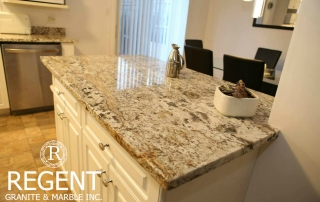 Bianco Antico Granite Kitchen Counter