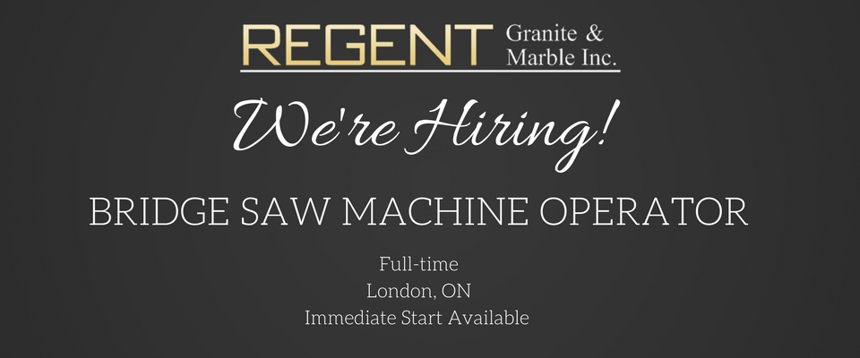 Regent Granite-Job-Posting-Saw-Machine-Operator