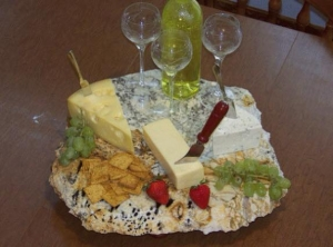 Granite Slab Cheese Board