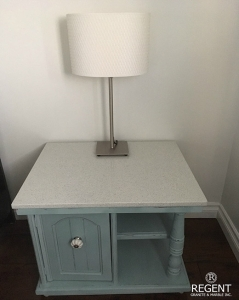 Granite-topped Night Stand