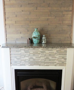 Granite Fireplace Mount