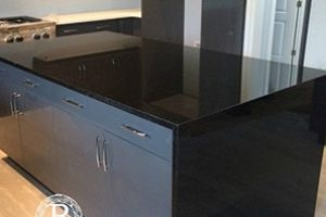 Custom Waterfall Granite Countertops