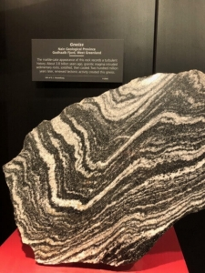 Gneiss stone from Nain Geological Province