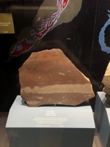 Hornfels Stone at the Smithsonian Museum in Washington DC